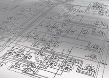 ηλεκτρονικό σχέδιο Στοκ εικόνα με δικαίωμα ελεύθερης χρήσης