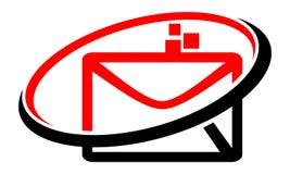 Ηλεκτρονικό ταχυδρομείο που εμπορεύεται app ελεύθερη απεικόνιση δικαιώματος