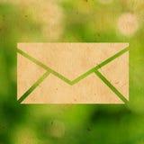 ηλεκτρονικό ταχυδρομείο eco Στοκ Εικόνα