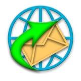 ηλεκτρονικό ταχυδρομεί&o Στοκ Εικόνες