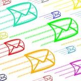 ηλεκτρονικό ταχυδρομεί&o ελεύθερη απεικόνιση δικαιώματος