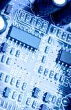 Ηλεκτρονικό χαρτόνι κυκλωμάτων Στοκ εικόνες με δικαίωμα ελεύθερης χρήσης