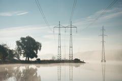 Ηλεκτροφόρα καλώδια Στοκ φωτογραφία με δικαίωμα ελεύθερης χρήσης