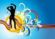 ηλεκτρο ροή χορού απεικόνιση αποθεμάτων