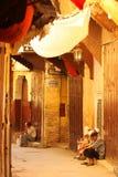 ηληκιωμένοι medina στοκ φωτογραφία με δικαίωμα ελεύθερης χρήσης
