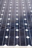 Ηλιακά κύτταρα στοκ εικόνα με δικαίωμα ελεύθερης χρήσης