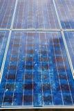 Ηλιακά κύτταρα στοκ φωτογραφίες