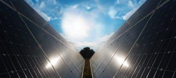 Ηλιακά πλαίσια Στοκ Εικόνες
