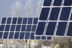 Ηλιακά πλαίσια Στοκ φωτογραφία με δικαίωμα ελεύθερης χρήσης