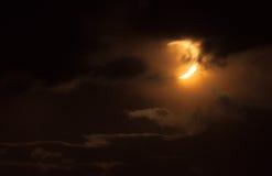 Ηλιακή έκλειψη 2012 Στοκ εικόνες με δικαίωμα ελεύθερης χρήσης