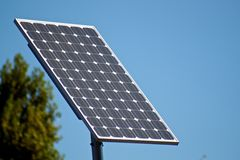 Ηλιακή ενέργεια Στοκ φωτογραφία με δικαίωμα ελεύθερης χρήσης