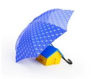 ηλιακή ομπρέλα επιτροπής Στοκ εικόνες με δικαίωμα ελεύθερης χρήσης