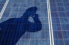 ηλιακή τεχνολογία επιτρ& στοκ φωτογραφία με δικαίωμα ελεύθερης χρήσης