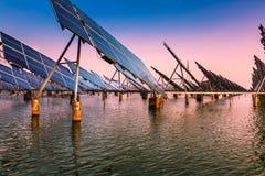 ηλιακός αέρας ισχύος Στοκ Φωτογραφίες