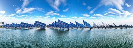 ηλιακός αέρας ισχύος Στοκ εικόνα με δικαίωμα ελεύθερης χρήσης