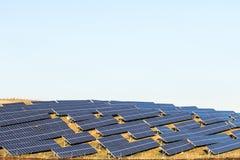 Ηλιακός θερμικός συλλέκτης στοκ φωτογραφία