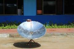Ηλιακός λέβητας Στοκ εικόνα με δικαίωμα ελεύθερης χρήσης