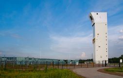 ηλιακός σταθμός ισχύος Στοκ φωτογραφία με δικαίωμα ελεύθερης χρήσης