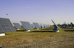 ηλιακός σταθμός ισχύος Στοκ εικόνες με δικαίωμα ελεύθερης χρήσης
