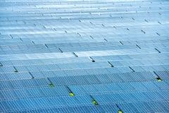 ηλιακός σταθμός ισχύος Στοκ φωτογραφίες με δικαίωμα ελεύθερης χρήσης