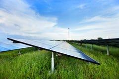 ηλιακός σταθμός ισχύος Στοκ Φωτογραφία