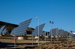 ηλιακός σταθμός της Ισπαν Στοκ Εικόνες