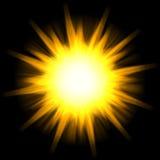 ηλιακό αστέρι έκρηξης Στοκ Φωτογραφία