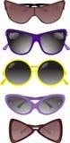 ηλιακό διάνυσμα απεικόνισης γυαλιών συλλογής Στοκ φωτογραφίες με δικαίωμα ελεύθερης χρήσης