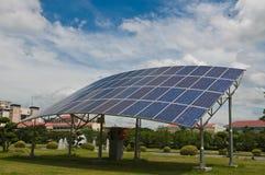 Ηλιακό κύτταρο Στοκ φωτογραφία με δικαίωμα ελεύθερης χρήσης