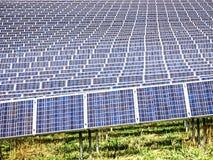 Ηλιακό κύτταρο Στοκ Φωτογραφία