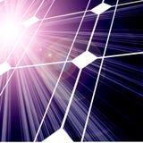 Ηλιακό πλαίσιο Στοκ Εικόνες