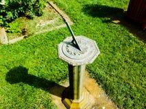 Ηλιακό ρολόι κήπων Shakespeare στοκ εικόνες