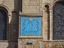 Ηλιακό ρολόι καθεδρικών ναών Ely στοκ φωτογραφίες