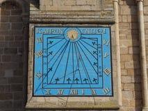 Ηλιακό ρολόι καθεδρικών ναών Ely στοκ φωτογραφία με δικαίωμα ελεύθερης χρήσης