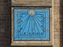 Ηλιακό ρολόι καθεδρικών ναών Ely στοκ εικόνες