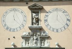 Ηλιακό ρολόι του μοναστηριού Czestochowa στοκ φωτογραφίες με δικαίωμα ελεύθερης χρήσης