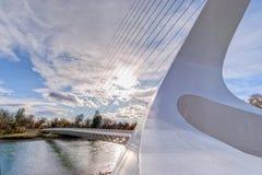 ηλιακό ρολόι 101 γεφυρών Στοκ φωτογραφία με δικαίωμα ελεύθερης χρήσης