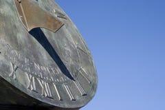 ηλιακό ρολόι 2 Στοκ Εικόνες