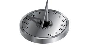 ηλιακό ρολόι Στοκ Φωτογραφία
