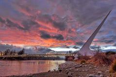 ηλιακό ρολόι 236 γεφυρών Στοκ εικόνες με δικαίωμα ελεύθερης χρήσης
