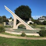 Ηλιακό ρολόι Urbano, πεζούλι Ingleside, Σαν Φρανσίσκο, 7 στοκ εικόνες