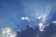 ηλιαχτίδες Στοκ Φωτογραφίες