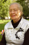 ηλικίας γυναίκα Στοκ φωτογραφία με δικαίωμα ελεύθερης χρήσης
