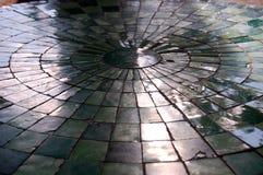 Ηλικίας κεραμωμένο πάτωμα στο κάστρο Bory ως υπόβαθρο στοκ φωτογραφία με δικαίωμα ελεύθερης χρήσης
