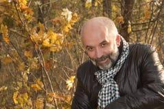 ηλικίας μέσο πορτρέτο ατόμ&ome Στοκ Εικόνες