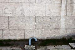 ηλικίας τοίχος οδών Στοκ φωτογραφία με δικαίωμα ελεύθερης χρήσης