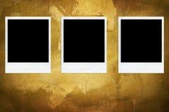 ηλικίας φωτογραφίες τρία διανυσματική απεικόνιση