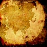 ηλικίας χάρτης της Ασίας Στοκ φωτογραφία με δικαίωμα ελεύθερης χρήσης