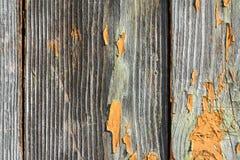 Ηλικίας χρωματισμένη ξύλινη σύσταση σανίδων τοίχων, υπόβαθρο, κινηματογράφηση σε πρώτο πλάνο Στοκ Εικόνες