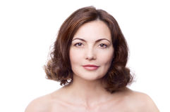 ηλικίας όμορφη μέση γυναίκα στοκ εικόνες